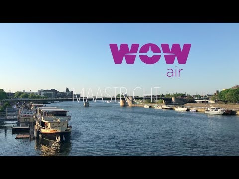 WOW air travel guide application - Maastricht