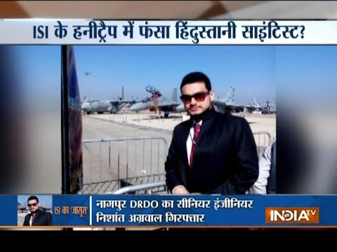 DRDO scientist arrested for leaking...