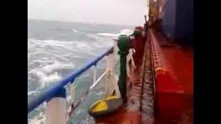 Video Ombak Di Laut Jawa 5 Meter