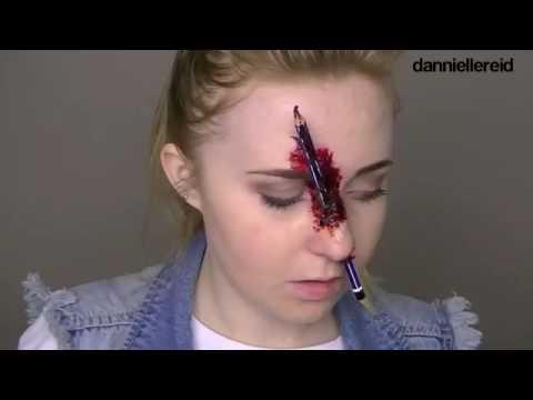 Hướng dẫn makeup kinh dị, cái này mà đi Halloween thì y bài