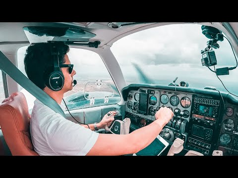 Flying to Belize in a Private Plane
