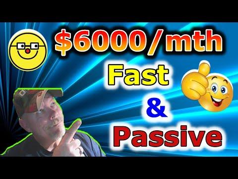 Make $6000 / Mth Fast | Make Money with Affiliate Marketing (passive income 2021)