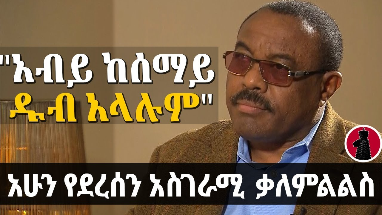 Interview with former PM Hailemariam