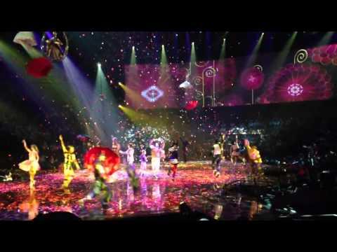 hey jude cirque du soleil beatles LOVE closing number video clip
