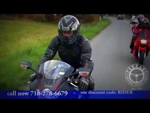 New York Motorcycle Training & License Program - Ferrari Driving School