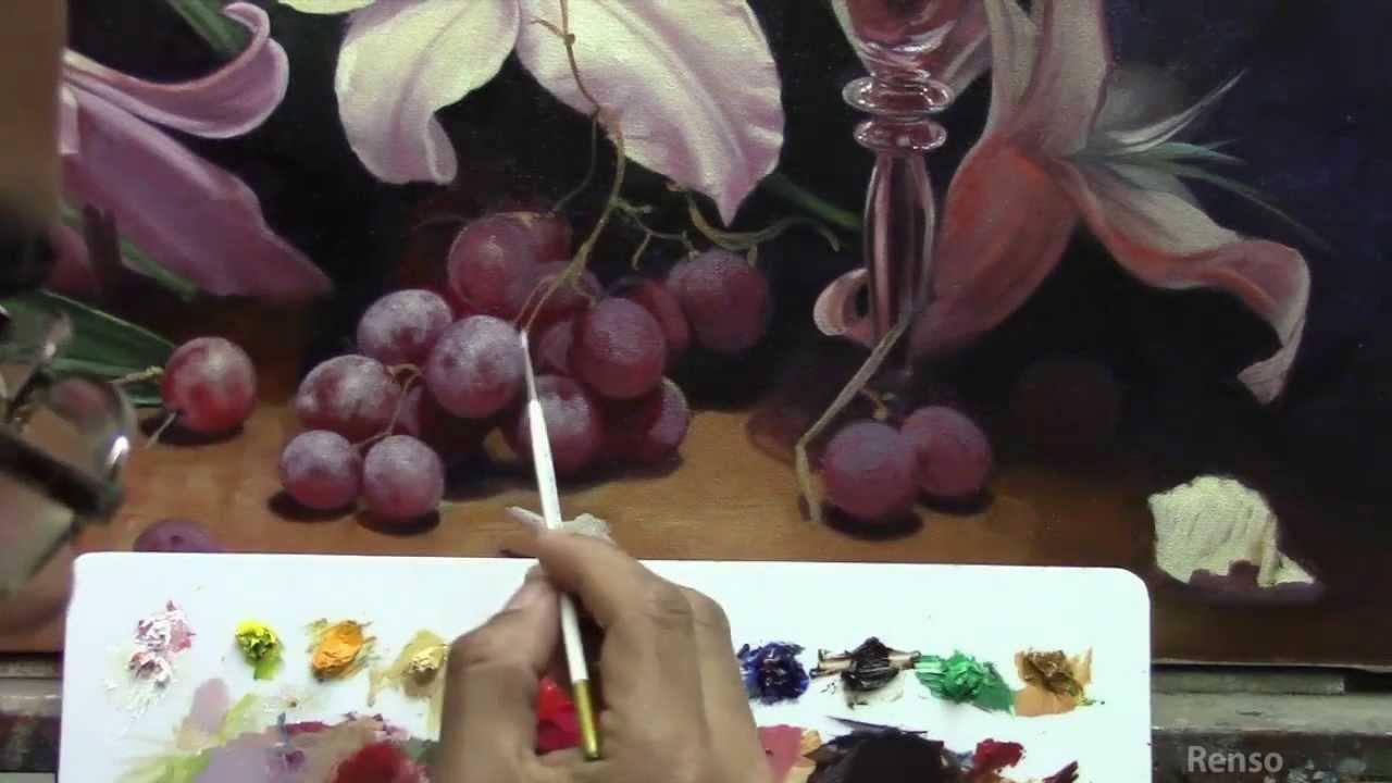 Presentacion curso bodegon con flores youtube - Fotos jarrones con flores ...