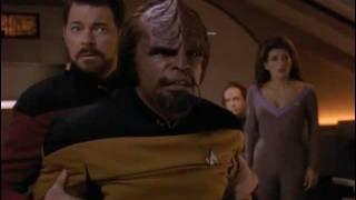 TNG Antagonizing Worf (Liaisons)