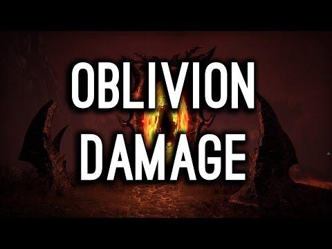 Oblivion Damage! How does it work? Morrowind PTS