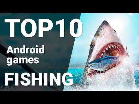 Top 10 Fishing Games For Android 2019 [1080p/60fps]