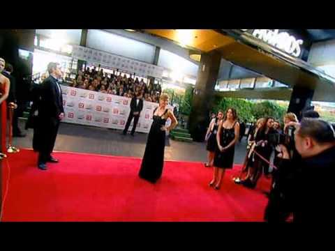 2007 TV Week Logie Awards Arrivals 01  Natalie Bassingwaighte & Nicky Whelan