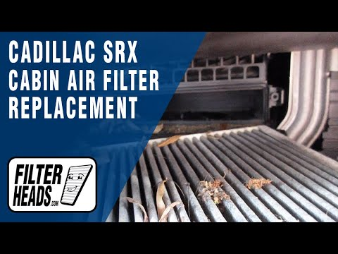 How to Replace Cabin Air Filter 2011 Cadillac SRX