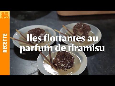 Iles flottantes au parfum de tiramisu