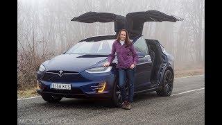 Prueba Tesla Model X 100D 2018: ¿se puede viajar en un coche eléctrico?