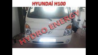 Hyundai H100 / Bodrum - MuĞla / Ucr Hidrojen Yakıt Sistem Montajı.