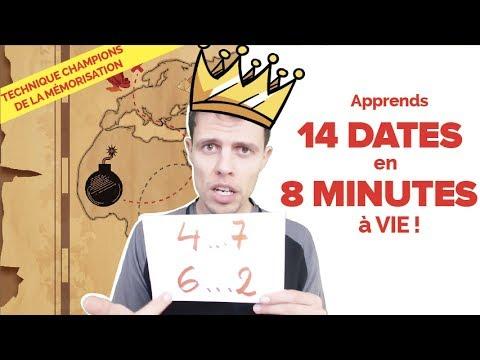APPRENDRE LES DATES D'HISTOIRE : Technique de Compétition !!