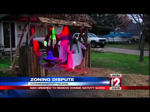 Zombie Nativity spat continues for second year