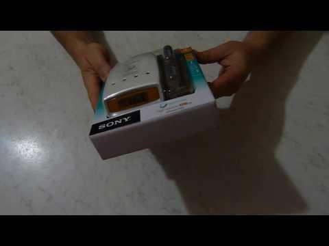 Зарядное устройство Sony Super Quick Charger with LCD +4xAA 2700mAh Распаковка