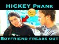 Hickey prank on boyfriend gone violent!