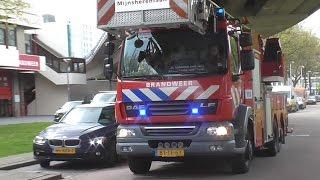 PRIO 1 Brandweer Mijnsherenlaan 17-3431 17-3451 gebouwbrand Lodewijk Pincoffsplein