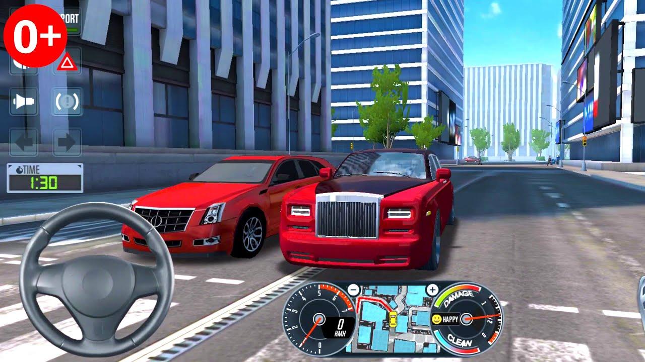 игра taxi sim 2020 много денег