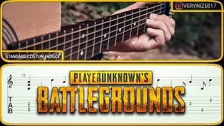 Download Video [TAB/TUTORIAL] PUBG THEMESONG fingerstyle guitar tab MP3 3GP MP4
