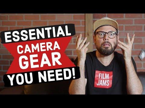 ESSENTIAL Camera Gear: Top 5 Best Accessories & Filmmaking Equipment 2020