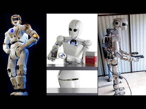 3 Cool Humanoid Robots (space Robot) Will Become Astronauts & Travel To Space.