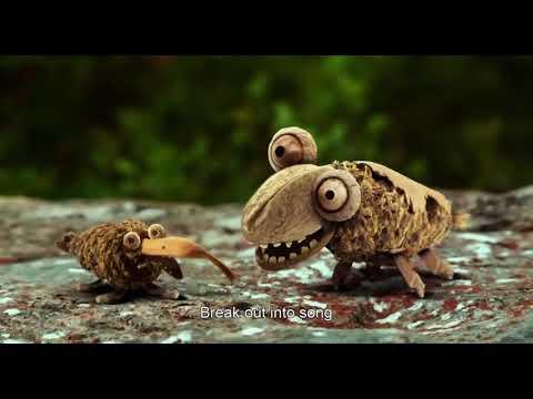 Two Snails Set Off