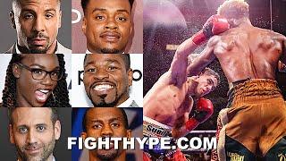 FIGHTERS & EXPERTS REACT TO JERMELL CHARLO SPLIT DRAW VS, CASTANO: WARD, PORTER, KELLERMAN, & MORE