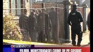 Filmul monstruoasei crime de pe Cosbuc