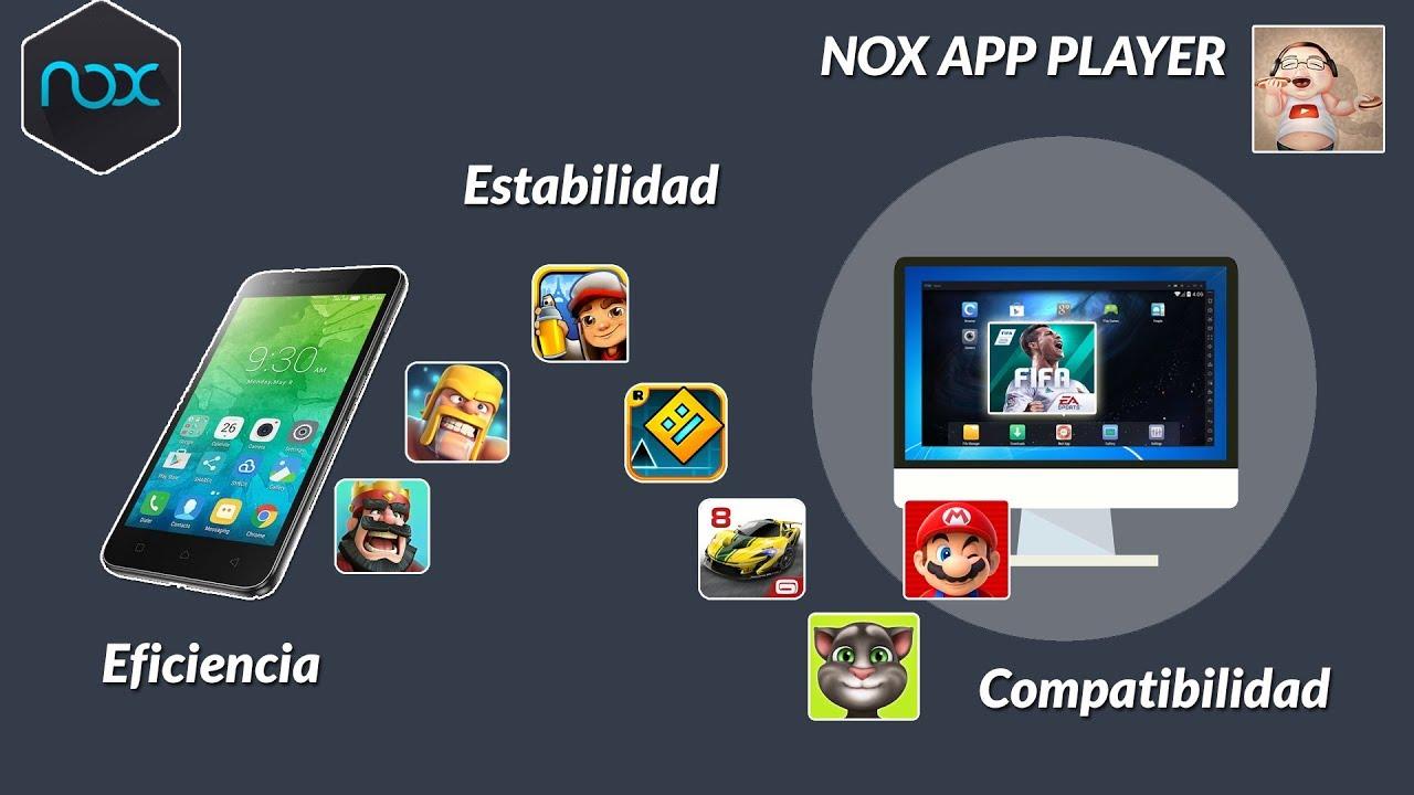 nox emulador de android para pc