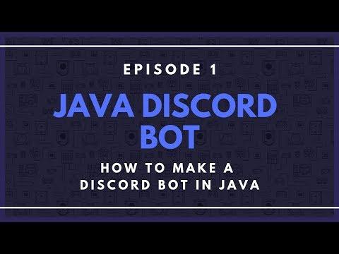 Java Discord API(JDA) ep. 1 - How to Make a Discord Bot in Java