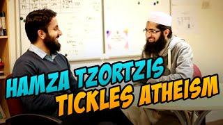 Hamza Tzortzis TICKLES Atheism