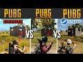 PUBG MOBILE vs PUBG LITE vs PUBG steam.ЧАСТЬ 2 СРАВНЕНИЕ МЕХАНИК В PUBG LITE