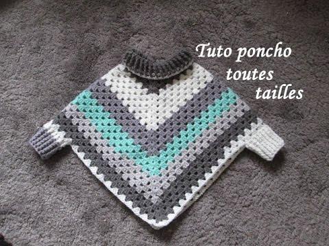 """Résultat de recherche d'images pour """"poncho au crochet"""""""