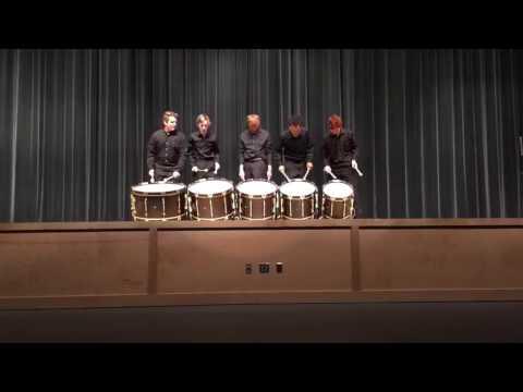 Jensen Beach High School Bass Ensemble 2016