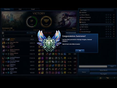 Only Diana Diamond 5 [NA] - Ranked Solo Q (kennen while banned)