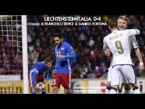 LIECHTENSTEIN-ITALIA 0-4 - Radiocronaca di Francesco Repice & Daniele Fortuna (12/11/2016) Radio Rai