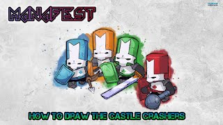 How to Draw the Castle Crashers