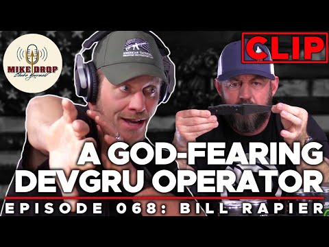 Guns, God, & AMTAC Knives | Mike Drop CLIPS - Episode 68