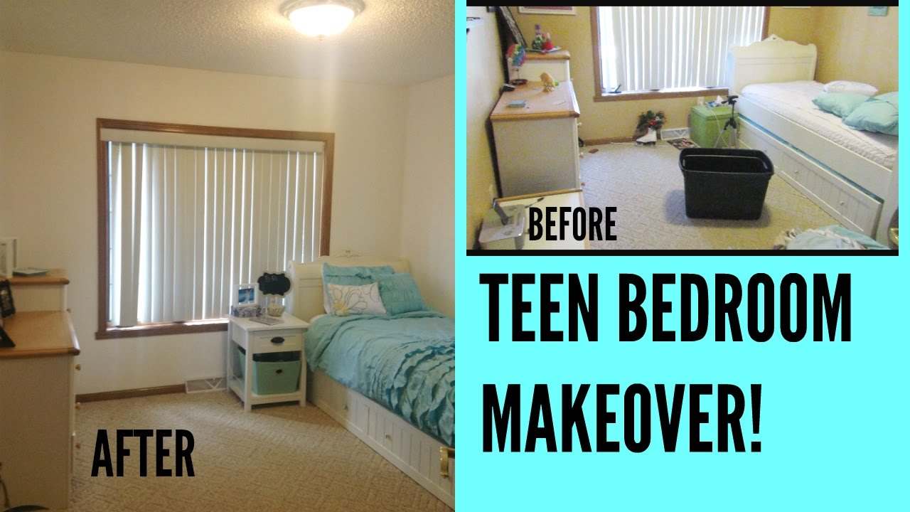 Redoing my bedroom teen bedroom makeover youtube How to redo a bedroom cheap