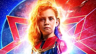 5-Year-Old Photoshopped as Captain Marvel on Poster