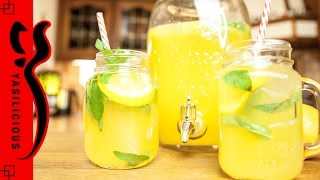 LIMONADE selbst machen – schön erfrischend mit Zitrone, Orange und Minze =)