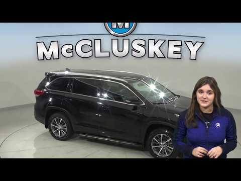 A16769DT Used 2018 Toyota Highlander Black SUV  Test Drive, Review, For Sale -