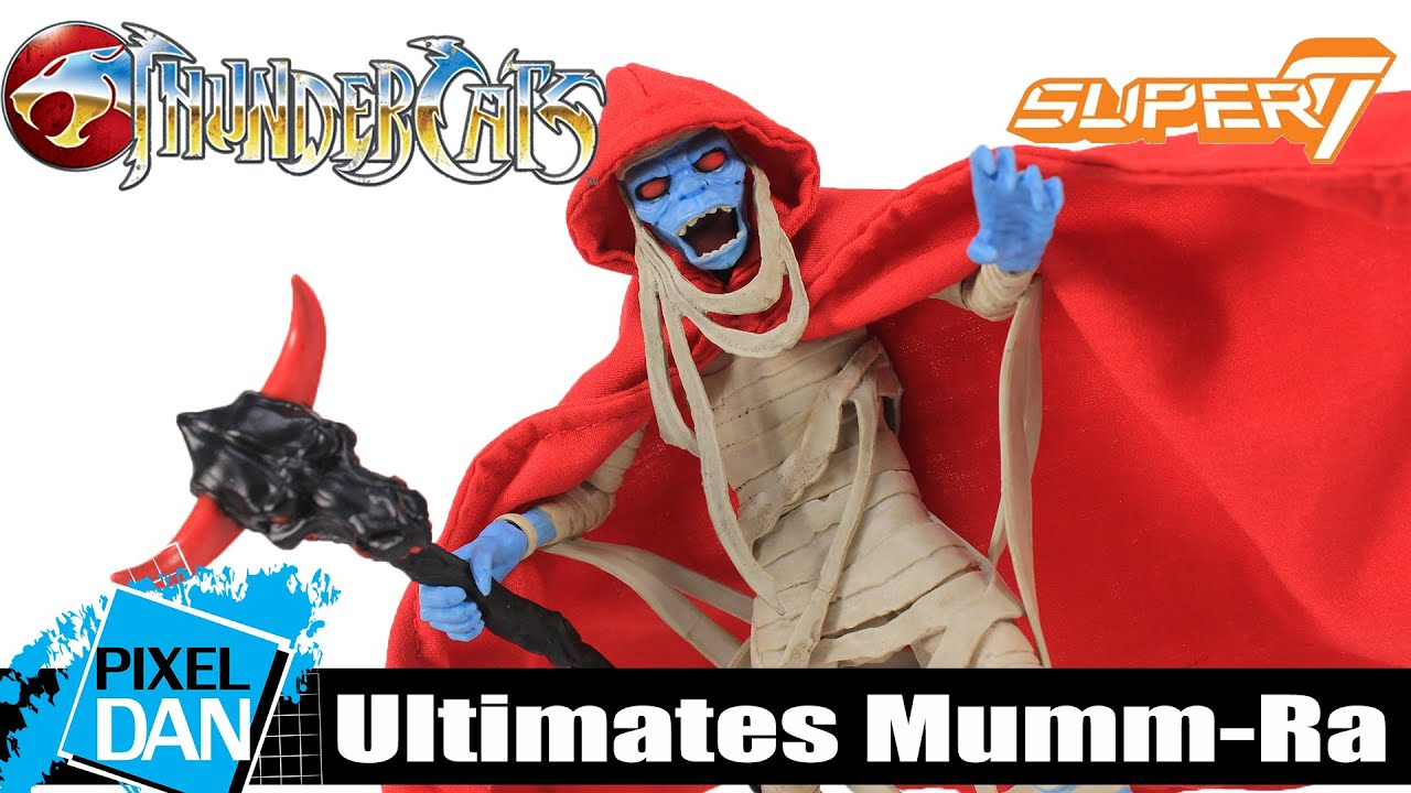 Super 7 Thundercats Ultimates Action Figure-Mumm-Ra De-thunw 01-MMR-01