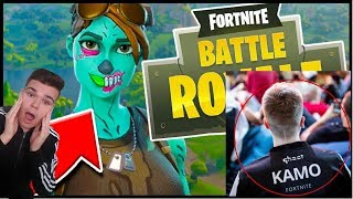 In a ROUND with GHOST KAMO... This happened in my Fortnite Solo Vs Squad Killduell tournament