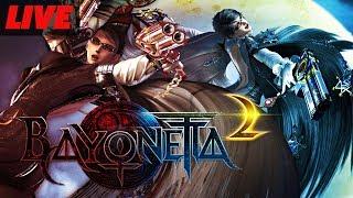 Bayonetta and Bayonetta 2 Switch Gameplay Live