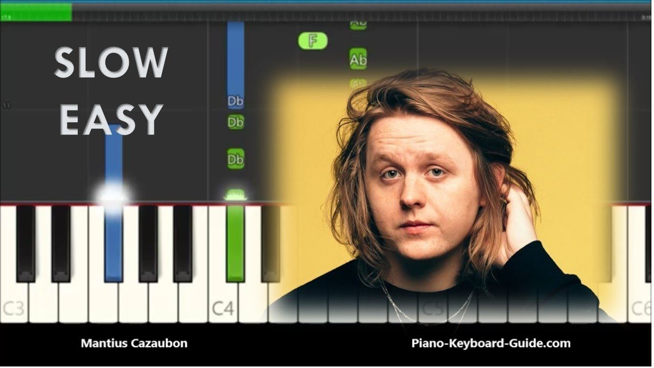 How To Play Someone You Loved By Lewis Capaldi On Piano And Keyboard