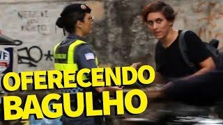 DESAFIO OFERECENDO BAGULHO A POLÍCIA