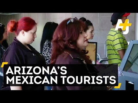 Mexican Tourists Support Arizona's Economy